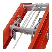 Escada Fibra de Vidro Extensível 27 Degraus 8.40m EFV-27 COGUMELO