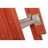 Escada Fibra de Vidro Extensível 38 Degraus 12m EF-38 COGUMELO