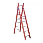 Escada Fibra de Vidro tipo Tesoura 12 Degraus 3,85 metros TSH-6-12 COGUMELO