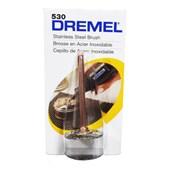"Escova Circular de Inox 3/4"" para Micro Retífica 26150530AC DREMEL"