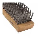 Escova de Aço Carbono Manual 6 Fileiras 06714 INEBRAS