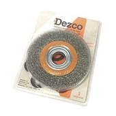 """Escova de Aço Circular Ondulada 6x3/4"""" Cb15019 Dezco"""