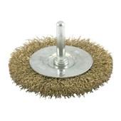 """Escova de Aço Circular Rotativa Ondulada com Haste 2"""" 66261175933 OSBORN"""