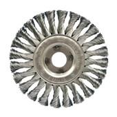 """Escova de Aço Circular Rotativa Trançada 4.1/2"""" 66261175919 OSBORN"""