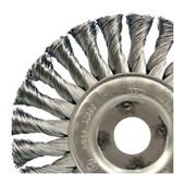 """Escova de Aço Circular Rotativa Trançada 6"""" 66261175921 OSBORN"""