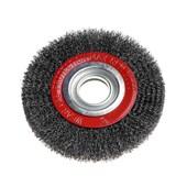 """Escova de Aço Rotativa Circular Ondulada 6"""" 66261175915 OSBORN"""