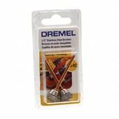 "Escova de Inox Copo 1/2"" para Micro Retífica 2 peças 26150531AA DREMEL"
