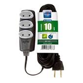 Extensão Elétrica PL 2x0,75 mm² 10m 10A 1467 NO SHOCK DANEVA