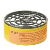 Filtro da Mascara Respiratoria CG 306 RC 203 CARBOGRAFITE