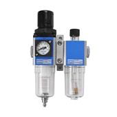"""Filtro de Ar Regulador e Lubrificador 1/4"""" GFC200-08-F3-WG PUMA"""