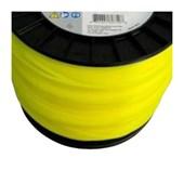 Fio de Nylon Quadrado 3,00mm 213MTS Amarelo 0000-930-3800 STIHL