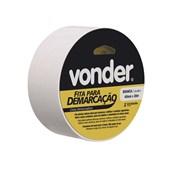 Fita Adesiva para Demarcação Branca 48mm X 30m 1065504321 Vonder