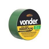 Fita Adesiva para Demarcação Verde 48mm X 30m 1065504381 Vonder