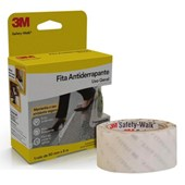 Fita Antiderrapante 50mm x 5m Transparente Safety Walk H0001912460 3M