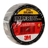 Fita Isolante 18mm x 10m Preta IMPERIAL COLORS 3M