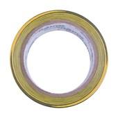 Fita para Demarcação de Solo 48mm x 30m Amarela e Preta 700.01516 PLASTCOR