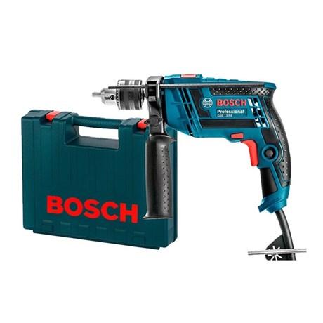 """Furadeira de Impacto 1/2"""" 650W com Maleta GSB13RE Bosch"""