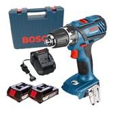 """Furadeira/ Parafusadeira 1/2"""" à Bateria 18V 220V GSR18-2LI Plus Bosch"""