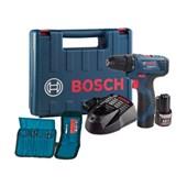 """Furadeira / Parafusadeira à Bateria 3/8"""" 12V 110/220V GSR120-LI Bosch"""