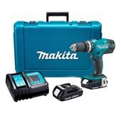 """Furadeira/ Parafusadeira de Impacto 1/2"""" 2 Baterias 18V com Maleta Bivolt DHP453SYE MAKITA"""