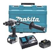 """Furadeira/ Parafusadeira de Impacto 1/2"""" 2 Baterias 18V com Maleta Bivolt DHP481RFE MAKITA"""