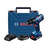 """Furadeira/ Parafusadeira de Impacto 1/2"""" 2 Baterias 18V com Maleta Bivolt GSB180LI BOSCH"""