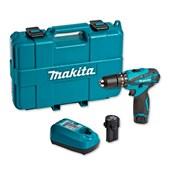 """Furadeira/ Parafusadeira de Impacto 3/8"""" 2 Baterias 12V com Maleta Bivolt HP330DWE MAKITA"""