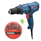 Furadeira/ Parafusadeira GSR 7-14E Bosch + Jogo de Bits 7 Peças MTX