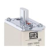 Fusível NH aR Ultra Rápido 80A 100kA em 690Vca FNH00-80K-A WEG