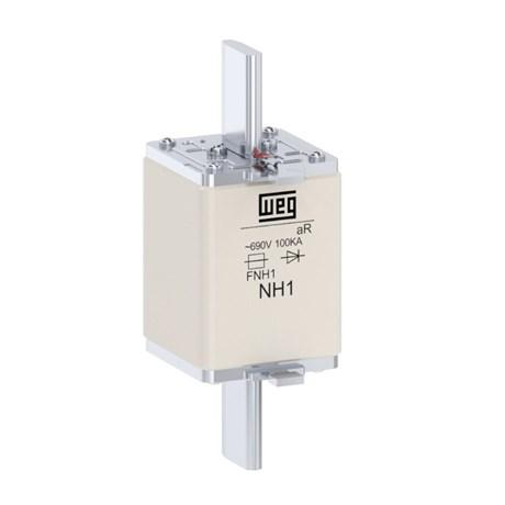 Fusível NH aR Ultra Rápido 80A 100kA em 690Vca FNH1-80K-A WEG