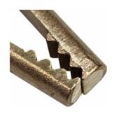 Garra Negativa para 500 Amperes em Bronze N500