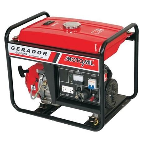 Gerador a Gasolina 5000W 110/220V 12V 4 Tempos MG-5000CL