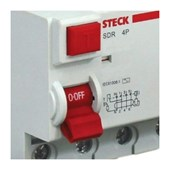 IDR Interruptor Diferencial Residual 4P 125A 300MA SDR412503 STECK