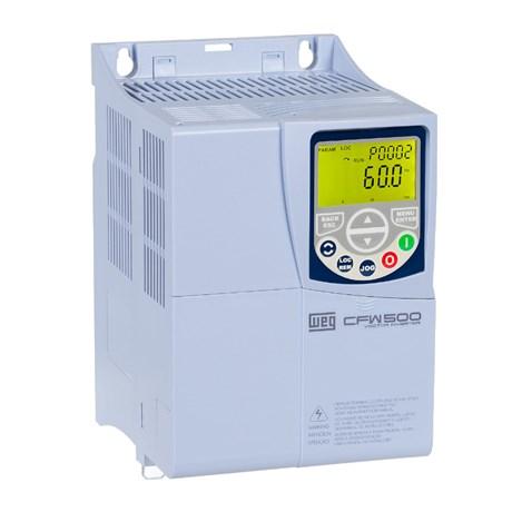 Inversor de Frequência Trifásico 7.5cv 24A 200-240V CFW500C24P0T2DB20 12105914 WEG