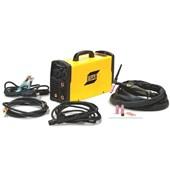 Inversora de Solda Tig 200A Monofásica com Cabos e Tocha 220V BuddyTig 200HF ESAB