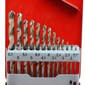Jogo Brocas para Metais 1.5 à 6mm 13 Peças 37262 HTOM