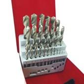 Jogo Brocas para Metais 1 à 13mm 25 Peças 37264 HTOM