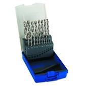 Jogo de Broca HP HSS DIN 338N 1.0 a 10.0mm 19pcs TW104-19PCS