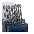 Jogo de Brocas Aço Rápido para Metais 1 à 10mm Din 338 19 Peças TW104 LENOX TWILL