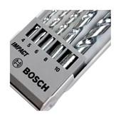 Jogo de Brocas para Concreto com 5 Peças 2608590090 Bosch