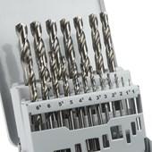 Jogo de Brocas para Metal 1.0mm à 10.00mm 19 Peças 2607019116 Bosch