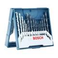 Jogo de Brocas para Metal Madeira Alvenaria X-Line 3 a 8mm 15 Peças 2607017504 BOSCH