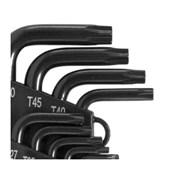 Jogo de Chave Torx L T10 a T50 9 Peças 3573010050 VONDER