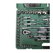Jogo de Soquete Sextavado Estriado 4 a 32mm com 150 Peças ST09510SJ SATA