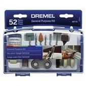 Kit Acessórios Uso Geral para Retífica 52 Peças 687 DREMEL