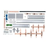 Kit Barramento Trifásico 100A para 28 Módulos DIN 904382N CEMAR