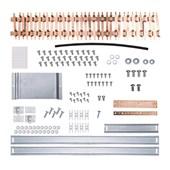 Kit Barramento Trifásico 150A para 34 Módulos DIN 904543N CEMAR