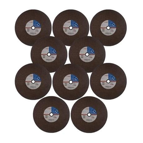 """Kit com 10 Discos de Corte de Ferro 14"""" Grana 30 2608602759 Bosch"""