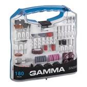 Kit de Acessórios para Micro Retífica 180 Peças G19507AC GAMMA