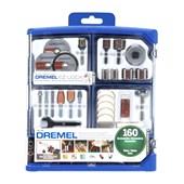 Kit de Acessórios para Micro Retífica com 160 Peças 26150710AK DREMEL